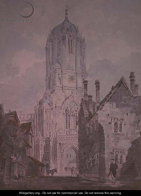 Christ Church, Oxford, 1795 - William (Turner of Oxford) Turner