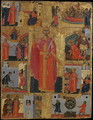 Icon of St Catherine with Scenes of Her Life - Emmanuel Tzanes