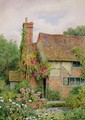 An Old World Cottage Garden - Thomas Nicholson Tyndale