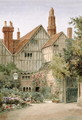 An Old Manor House and Garden - Thomas Nicholson Tyndale