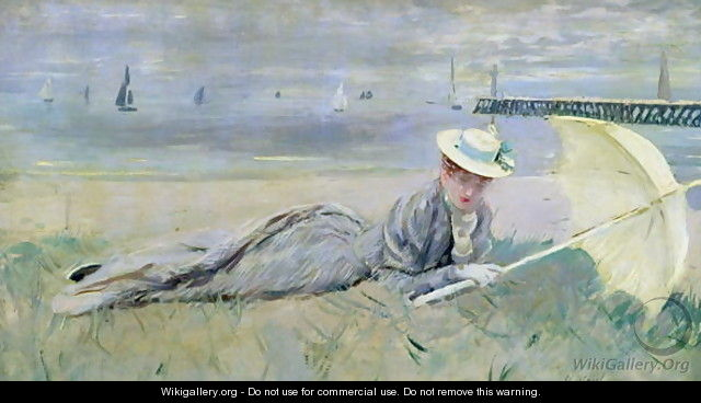 On the Beach - Paul Cesar Helleu