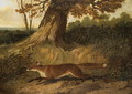 Fox on the run - John Frederick Herring Snr