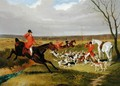 The Suffolk Hunt - The Death - John Frederick Herring Snr