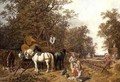 The Timber Waggon, 1858 - John Frederick Herring Snr