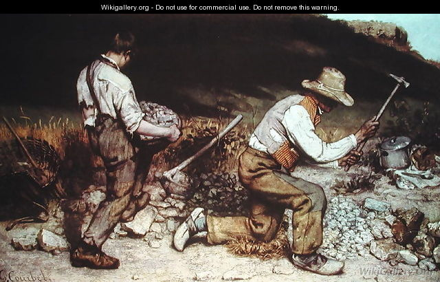 The Stone Breakers, 1849 - Gustave Courbet