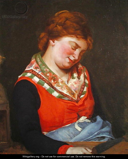 Peasant Woman Sleeping, 1853 - Gustave Courbet