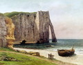 The Cliffs at Etretat, 1869 - Gustave Courbet
