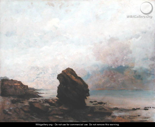 The Isolated Rock, c.1862 - Gustave Courbet
