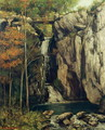 The Chasm at Conches, 1864 - Gustave Courbet
