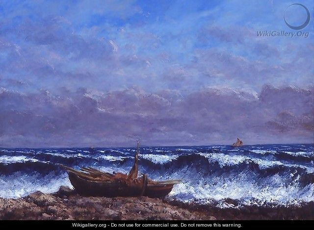 The Stormy Sea or, The Wave - Gustave Courbet