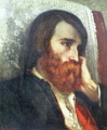 Portrait of Alfred Bruyas - Gustave Courbet