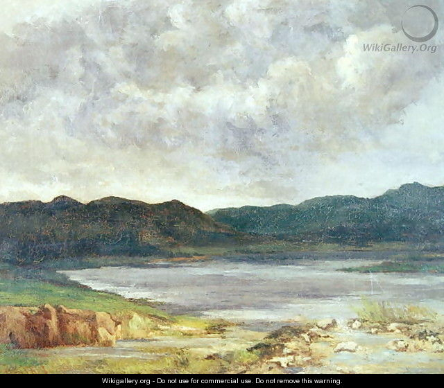 The Black Lake, 1872 - Gustave Courbet