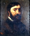 Portrait of Urbain Cuenot (b.1820) 1846 - Gustave Courbet