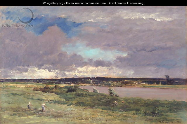 The Coming Storm: Early Spring, 1874 - Charles-Francois Daubigny