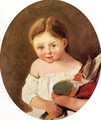 The Youngest Daughter of M. Edouard Delalain, c.1845-50 - Jean-Baptiste-Camille Corot