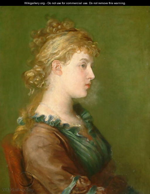 Lady Archibald Campbell (c.1846-1923) c.1960 - George Frederick Watts