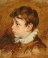 Boy's Head, 1836 - George Frederick Watts