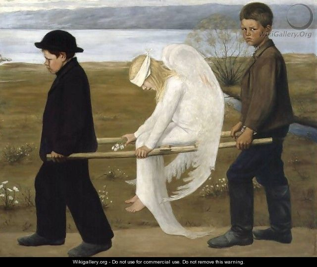 The Wounded Angel from 1903 - Hugo Simberg