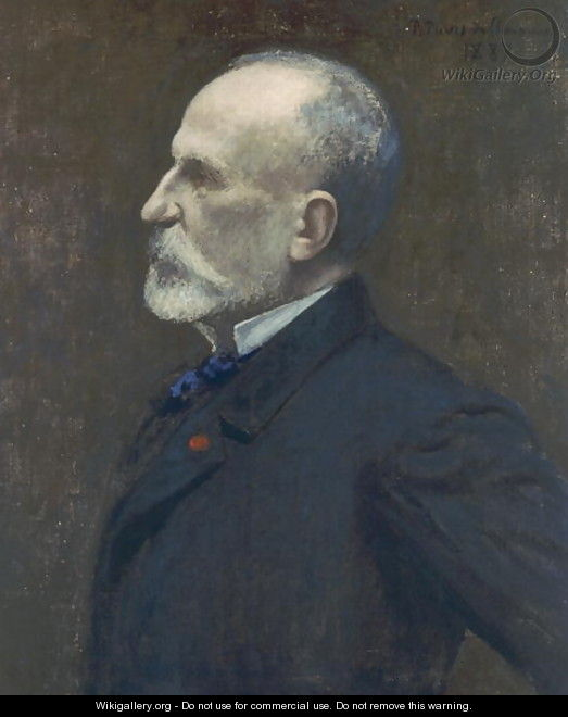 Self Portrait, 1887 - Pierre Cécile Puvis de Chevannes