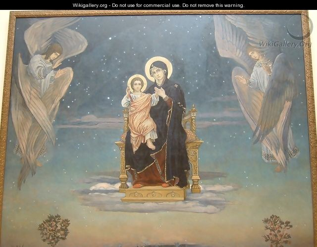 The Mother of God, 1901 - Viktor Vasnetsov