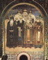 Russian Saints (monks and bishops) (St. Volodymyr's Cathedral fresco) - Viktor Vasnetsov