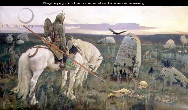 The Knight at the Crossroads, 1882 - Viktor Vasnetsov