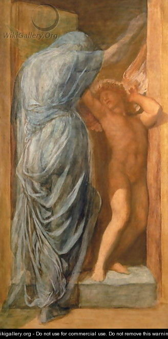 Love and Death 2 - George Frederick Watts