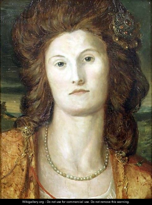 Portrait of Lady Ashburton (d.1857) - George Frederick Watts