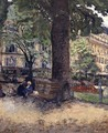 The Square at Vintimille, c.1925 - Edouard (Jean-Edouard) Vuillard