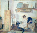 The Studio at Meudon - Edouard (Jean-Edouard) Vuillard
