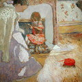 The Red Ball of Wool, c.1903-05 - Edouard (Jean-Edouard) Vuillard