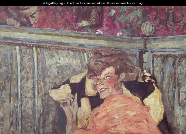 Yvonne Printemps (1894-1977) and Sacha Guitry (1885-1957) c.1912 - Edouard (Jean-Edouard) Vuillard