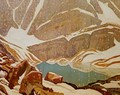 Mountain Snowfall Lake Oesa 1932 - James Edward Hervey MacDonald