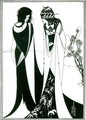 Salome with her mother, Herodias, 1894 - Aubrey Vincent Beardsley