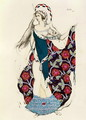 Costume design for a woman, from Judith, 1922 - Leon (Samoilovitch) Bakst