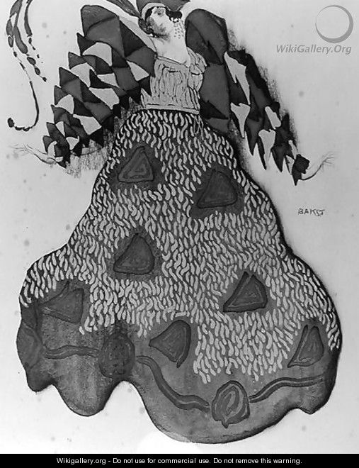 Costume design for the ballet