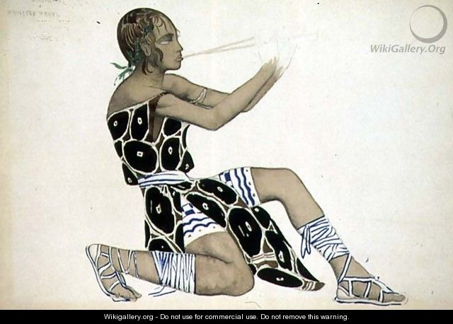 A Boetian Costume designed for Diaghilev