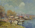 The Seine at Port-Marly, 1877 - Alfred Sisley