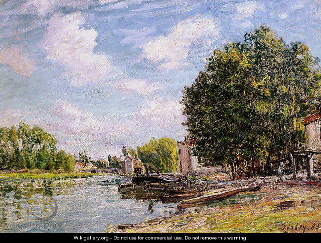 Moret-sur-Loing, 1885 - Alfred Sisley