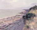 The Cliff at Penarth, Evening, Low Tide, 1897 - Alfred Sisley