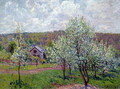 Spring in the Environs of Paris, Apple Blossom, 1879 - Alfred Sisley