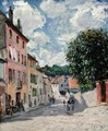 A Street, possibly in Port-Marly, 1876 - Alfred Sisley
