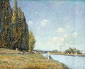 The Seine at Billancourt, 1879 - Alfred Sisley