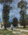The Road to Marly-le-Roi, or The Road to Versailles, 1875 - Alfred Sisley