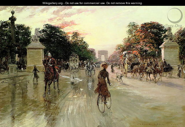 The Champs Elysees, Paris - Georges Stein