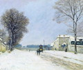 Winter, Snow Effect, 1876 - Alfred Sisley