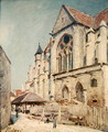 The Church at Moret 2 - Alfred Sisley