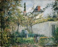 Kitchen Garden and Orchard, Pontoise, 1878 - Camille Pissarro