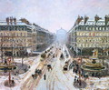 Avenue de l'Opera - Effect of Snow, 1898 - Camille Pissarro
