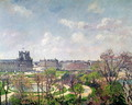 The Garden of the Tuileries, Morning, Spring, 1900 - Camille Pissarro